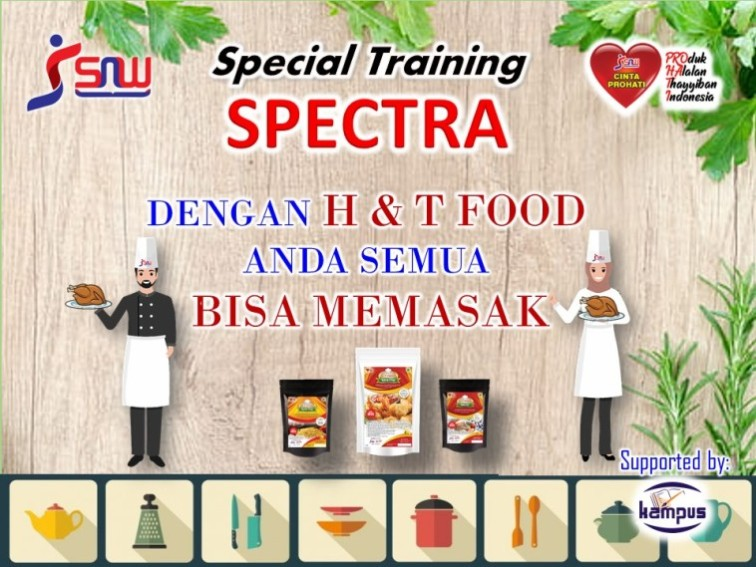 SPECTRA H&T FOOD BUMBU