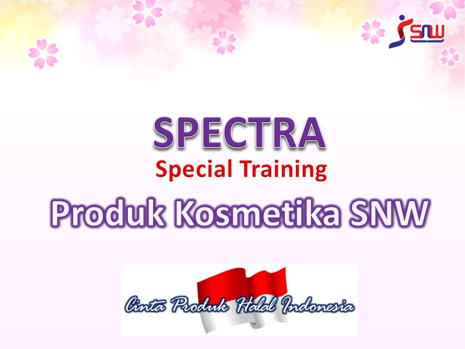 SPECTRA KOSMETIK SHADINA (Two Way Cake & Lipstick)