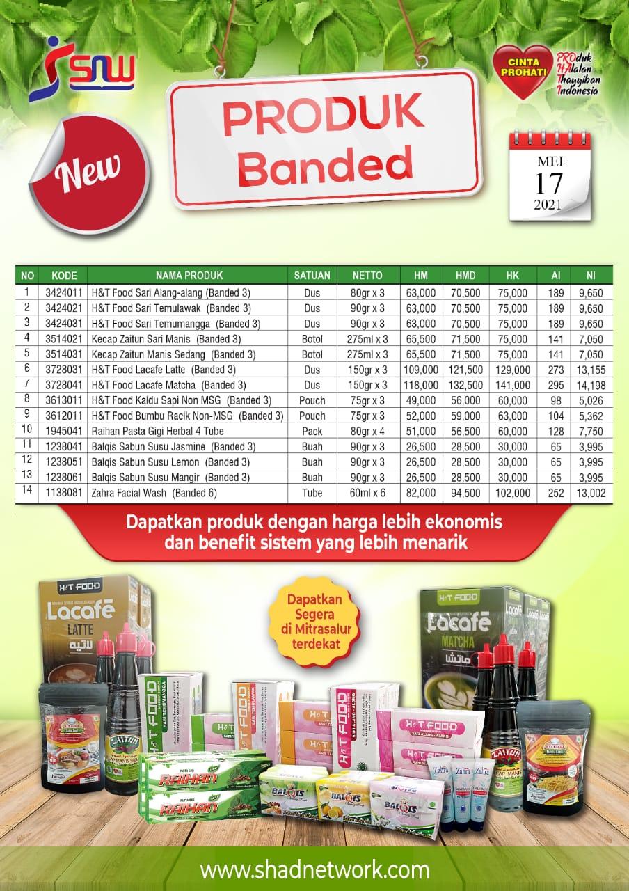 Daftar Harga Special Product
