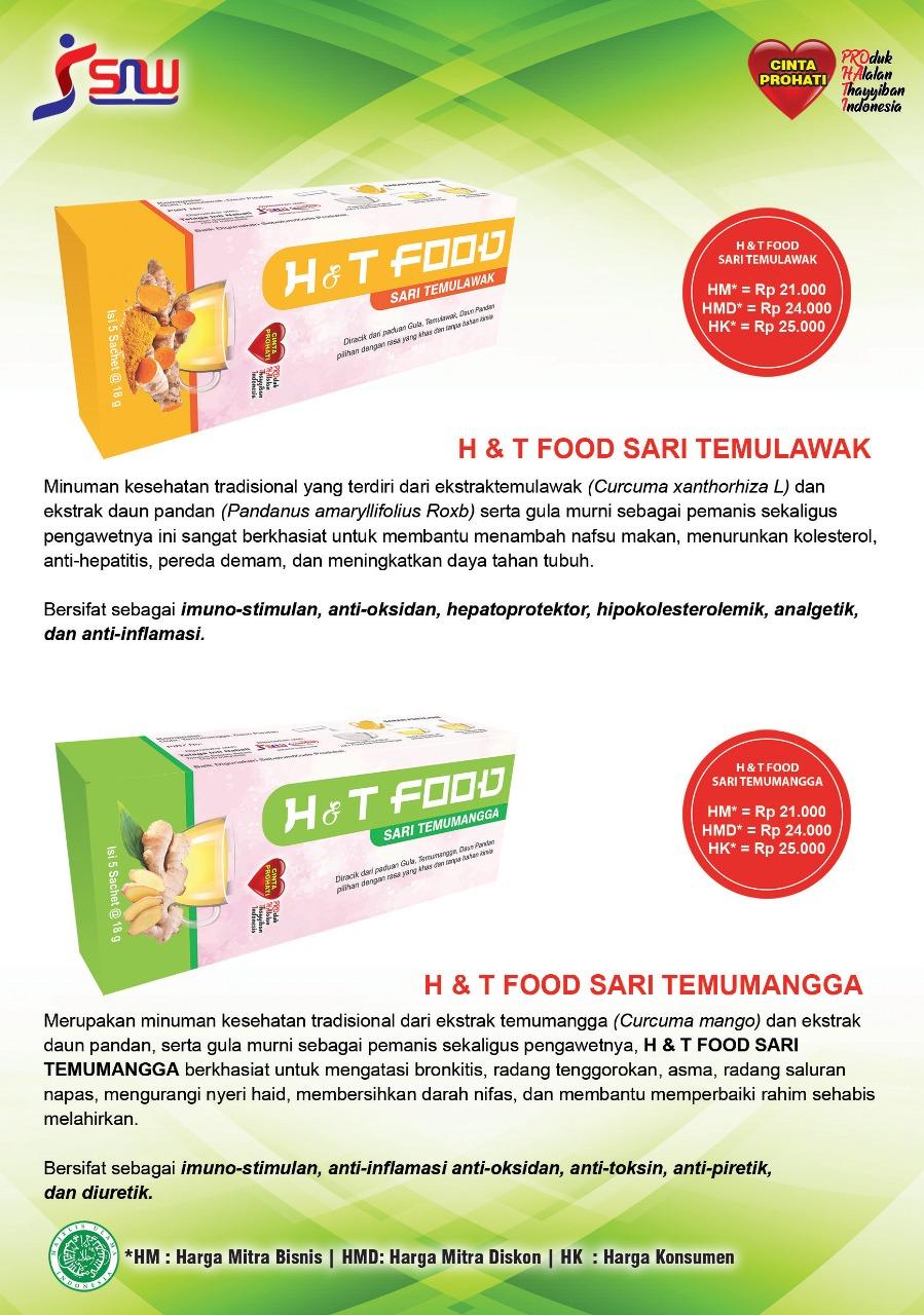Hot Foot Sari Temulawak & Sari Temumangga