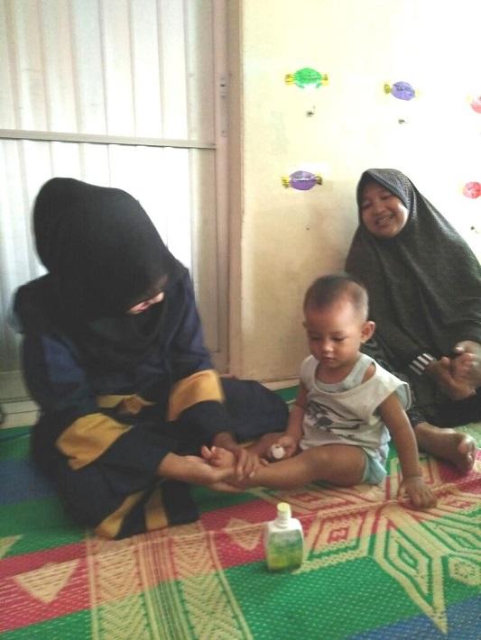 SKM Pijat Sehat Bayi dengan Minyak Multiguna Asy-Syifa, September 2017
