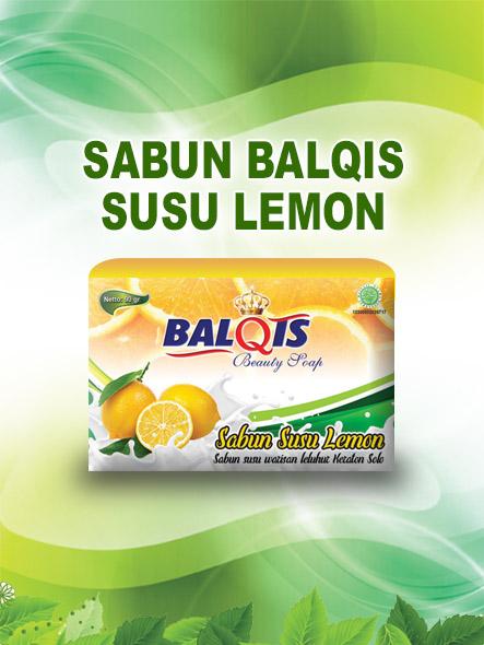 Balqis Sabun Susu Lemon