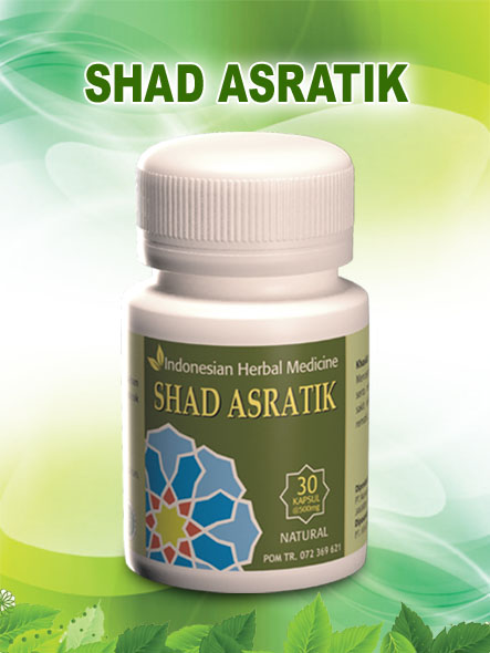 SHAD Asratik, 30 kapsul
